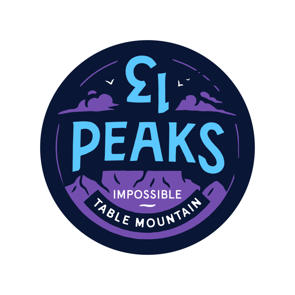 13 peaks impossible badge